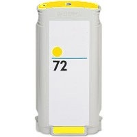 HP 72 Yellow Ink Cartridge - HP Remanufactured  (Yellow)