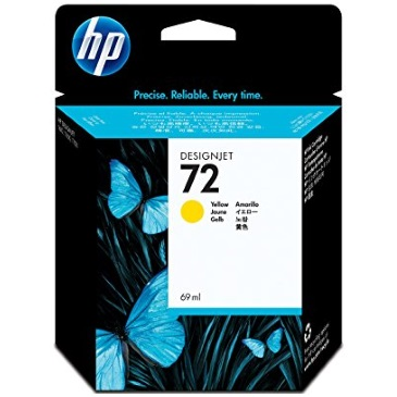 HP 72 Yellow