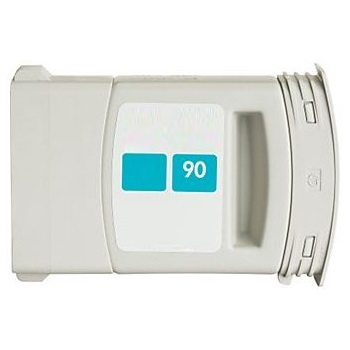 HP 90 Cyan Ink Cartridge - HP Remanufactured  (Cyan)