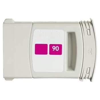 HP 90 Magenta Ink Cartridge - HP Remanufactured  (Magenta)