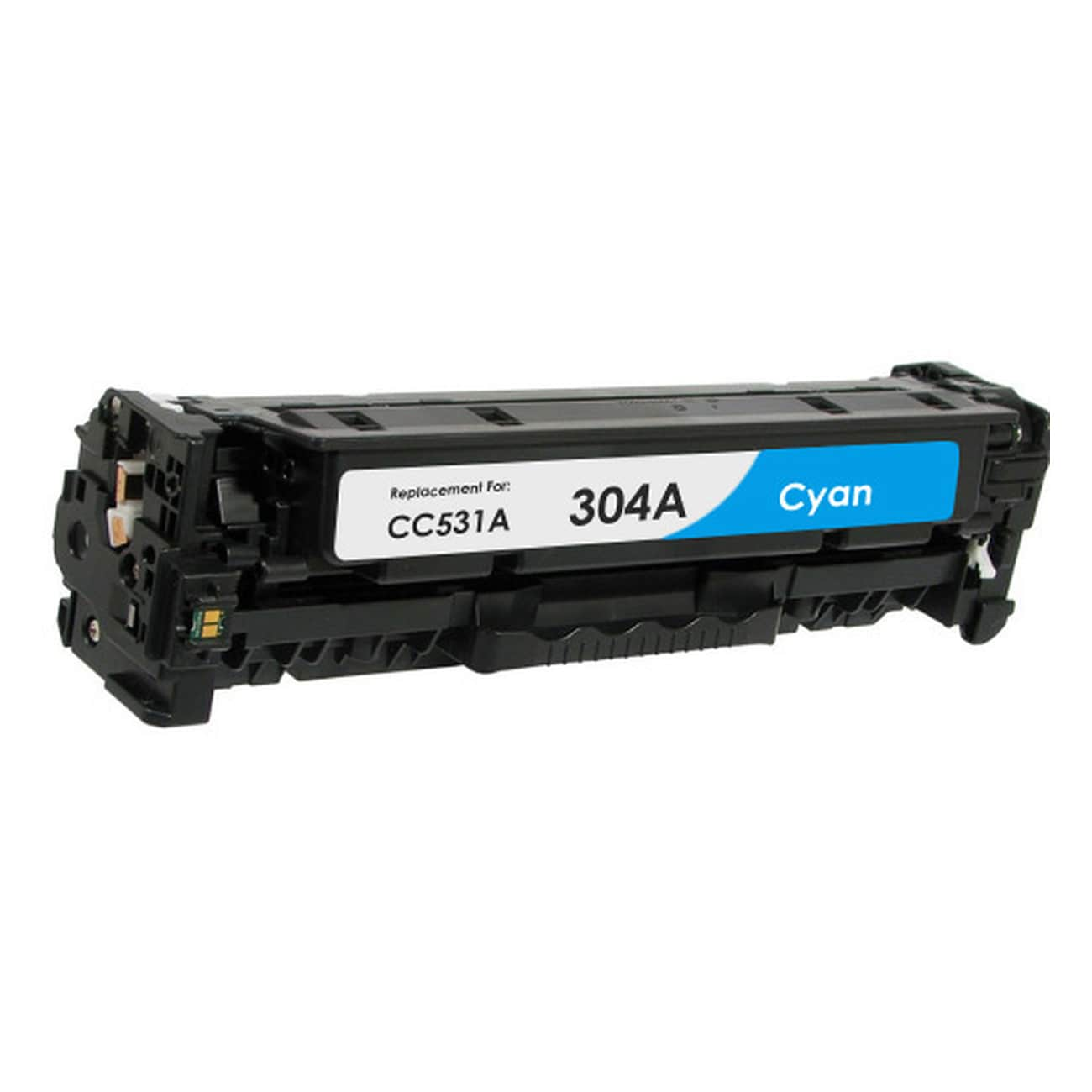 CC531A Toner Cartridge - HP Remanufactured  (Cyan)
