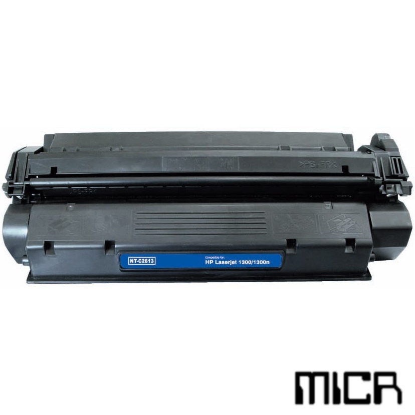 Q2613X-micr MICR Toner Cartridge - HP Remanufactured  (Black)