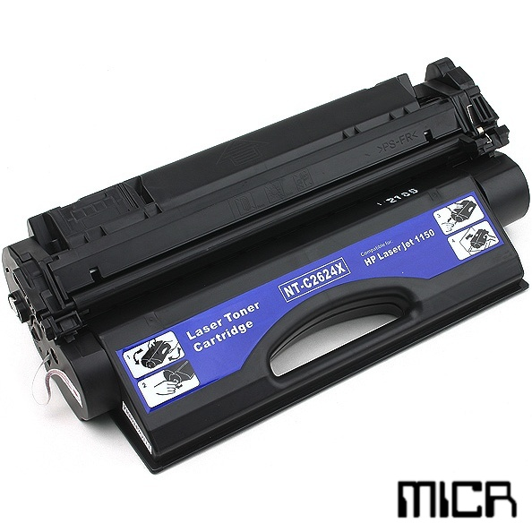 Q2624X-micr MICR Toner Cartridge - HP Remanufactured  (Black)