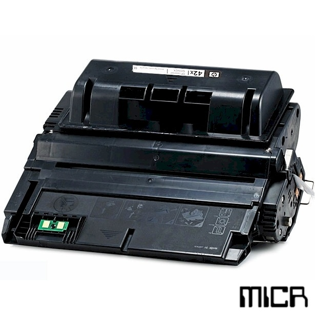 Q5942X-micr MICR Toner Cartridge - HP Remanufactured  (Black)