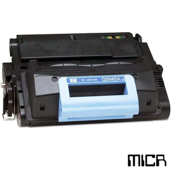Q5945A-micr MICR Toner Cartridge - HP Remanufactured  (Black)