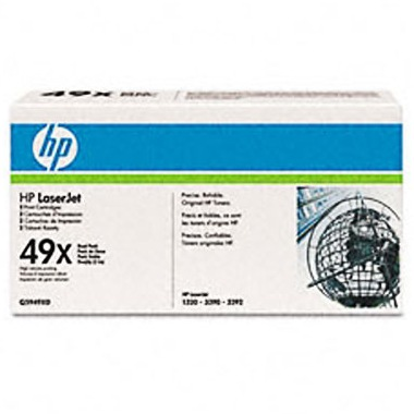 Q5949XD Toner Cartridges - HP Genuine OEM  (Black)