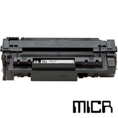 Q7551X-micr MICR Toner Cartridge - HP Remanufactured  (Black)