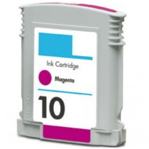 HP 10 Magenta Ink Cartridge - HP Remanufactured (Magenta)