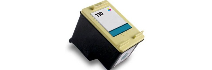 HP 110 Ink Cartridge - HP Remanufactured (Tricolor)