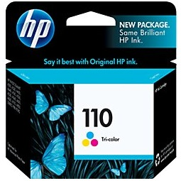 HP 110 Ink Cartridge - HP Genuine OEM (Tricolor)