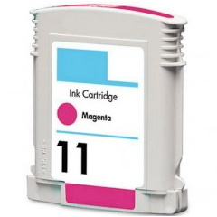 HP 11 Magenta Ink Cartridge - HP Remanufactured (Magenta)