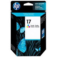 HP 17 Ink Cartridge - HP Genuine OEM (Tricolor)