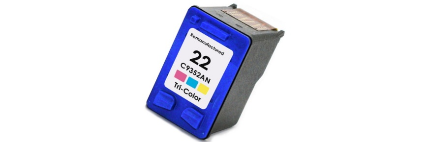 HP 22 Ink Cartridge - HP Remanufactured (Tricolor)