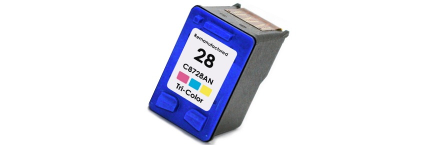 HP 28 Ink Cartridge - HP Remanufactured (Tricolor)