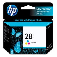 HP 28 Ink Cartridge - HP Genuine OEM (Tricolor)