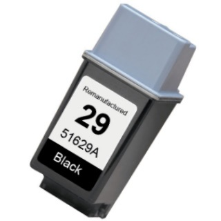 HP 29 Ink Cartridge - HP Remanufactured (Black)
