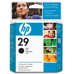 HP 29 Ink Cartridge - HP Genuine OEM (Black)