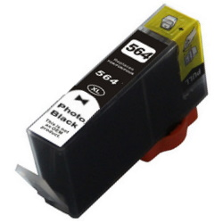 HP 564XL Photo Black Ink Cartridge - HP Remanufactured (Photo Black)