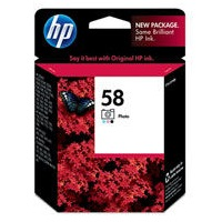 HP 58 Ink Cartridge - HP Genuine OEM (Photo Color)