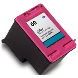 HP 60 Tricolor Ink Cartridge - HP Remanufactured (Tricolor)