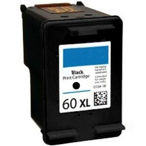 HP 60XL Black Ink Cartridge - HP Remanufactured  (Black)