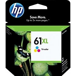 HP 61XL Tricolor Ink Cartridge - HP Genuine OEM  (Tricolor)