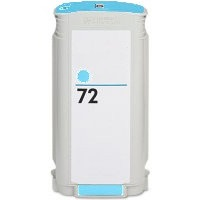 HP 72 Cyan Ink Cartridge - HP Remanufactured (Cyan)