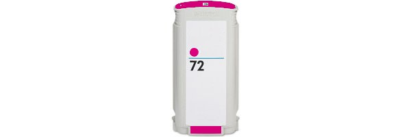 HP 72 Magenta Ink Cartridge - HP Remanufactured (Magenta)