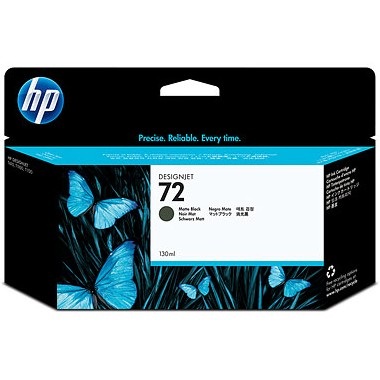 HP 72 Matte Black Ink Cartridge - HP Genuine OEM (Matte Black)