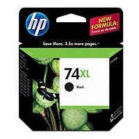 HP 74XL Ink Cartridge - HP Genuine OEM (Black)