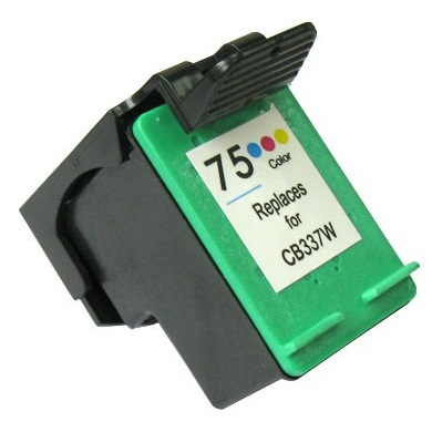 HP 75 Ink Cartridge - HP Remanufactured (Tricolor)