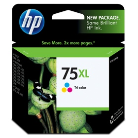 HP 75XL Ink Cartridge - HP Genuine OEM (Tricolor)