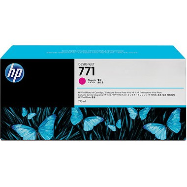 HP 771 Magenta Ink Cartridge - HP Genuine OEM (Magenta)