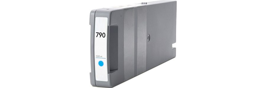 HP 790 Cyan Ink Cartridge - HP Remanufactured (Cyan)