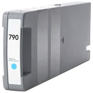 HP 790 Light Cyan Ink Cartridge - HP Remanufactured (Light Cyan)