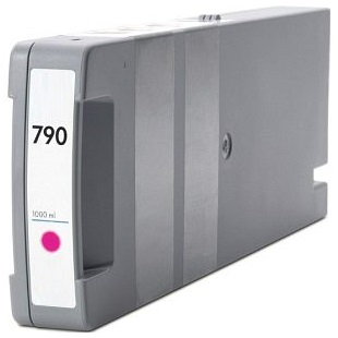 HP 790 Magenta Ink Cartridge - HP Remanufactured (Magenta)