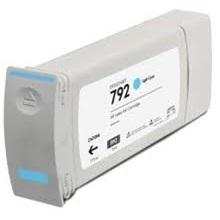 HP 792 Light Cyan Ink Cartridge - HP Compatible (Light Cyan)