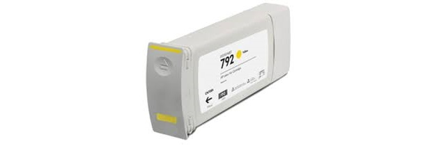 HP 792 Yellow Ink Cartridge - HP Compatible (Yellow)