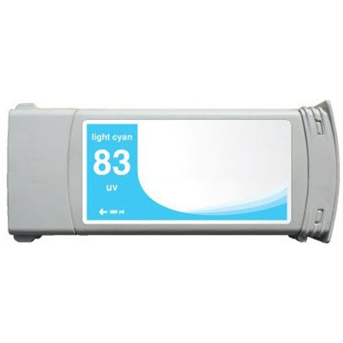 HP 83 Light Cyan Ink Cartridge - HP Remanufactured (Light Cyan)