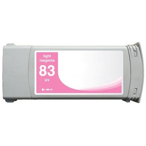 HP 83 Light Magenta Ink Cartridge - HP Remanufactured (Light Magenta)