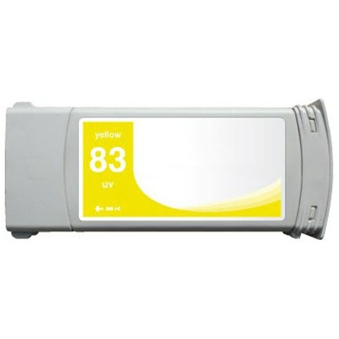 HP 83 Yellow Ink Cartridge - HP Remanufactured (Yellow)