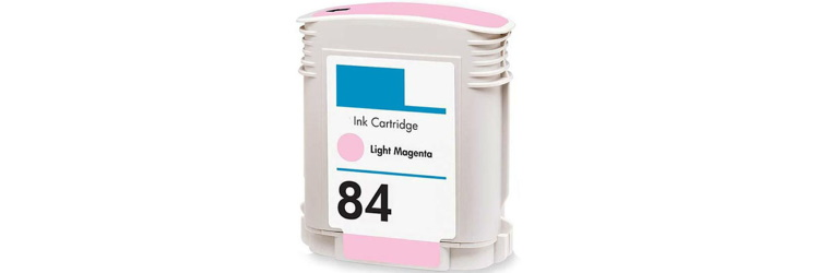 HP 84 Light Magenta Ink Cartridge - HP Remanufactured (Light Magenta)