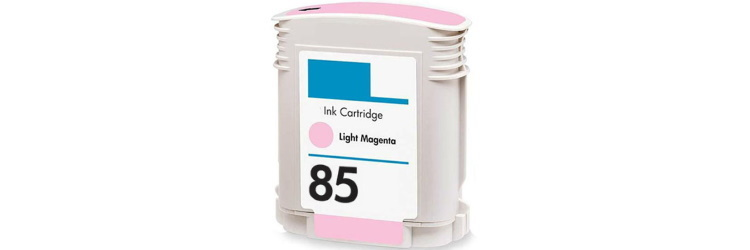 HP 85 Light Magenta Ink Cartridge - HP Remanufactured (Light Magenta)
