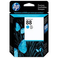 HP 88 Cyan Ink Cartridge - HP Genuine OEM (Cyan)
