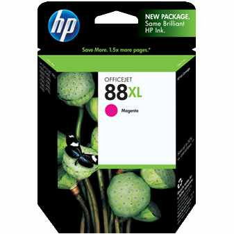 HP 88XL Magenta Ink Cartridge - HP Genuine OEM (Magenta)