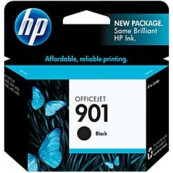HP 901 Black Ink Cartridge - HP Genuine OEM (Black)