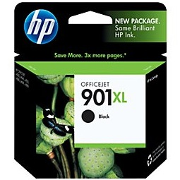 HP 901XL Black Ink Cartridge - HP Genuine OEM (Black)