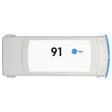 HP 91 Cyan Ink Cartridge - HP Remanufactured (Cyan)