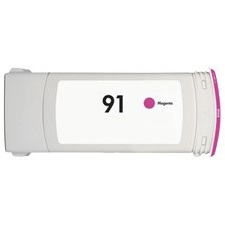 HP 91 Magenta Ink Cartridge - HP Remanufactured (Magenta)