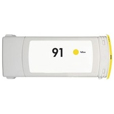 HP 91 Yellow Ink Cartridge - HP Remanufactured (Yellow)